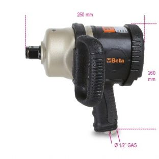 "Beta 1930CD 1"" Drive Reversible Impact Wrench, Made From Composite Material"